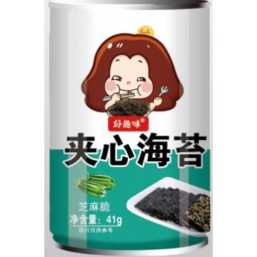 好趣味夹心海苔炒米