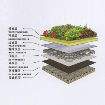 种植屋面防水系统