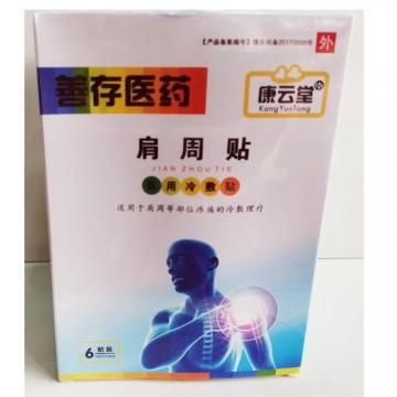 康云堂善存医药肩周贴适用于肩周等部位疼痛的冷敷理疗