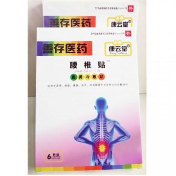 康云堂善存医药腰椎贴适用于肩周 颈椎 等部位的冷敷理疗