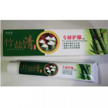 竹盐清110g牙膏专研护龈舒缓牙龈发炎红肿 缓解牙龈疼痛厂家