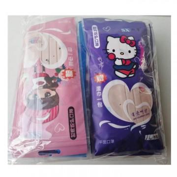 包邮双馨时尚防护口罩 防霾防污染 厂家批发 买一包送湿巾一包
