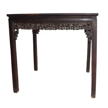 雕花方桌(紫檀)0.92×0.92×0.87