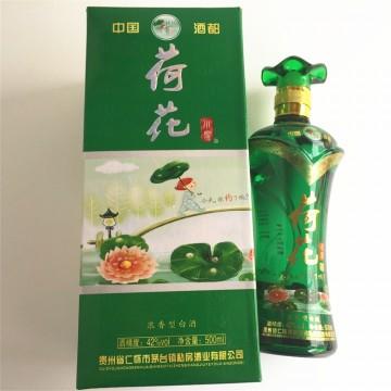 42°贵州茅台镇荷花酒 浓型白酒