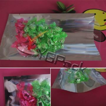 16*24*16c镀铝阴阳袋 单面透明 干果袋 杂粮袋茶叶袋