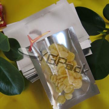 15*22*16c镀铝阴阳袋 单面透明干果袋 杂粮袋 茶叶袋