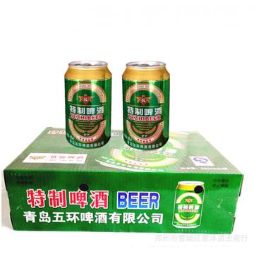啤酒8°山东小麦王精制清爽型320*24听精酿啤酒听装易拉罐