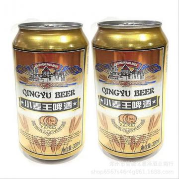 批发啤酒8°山东特产小麦王精制清爽型精酿啤酒