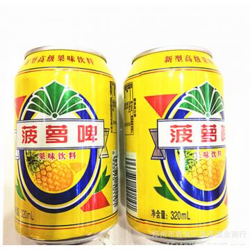 整箱批发啤酒山东特产菠萝啤果味型碳酸饮料
