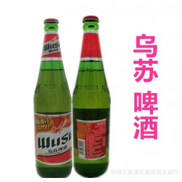 批发啤酒新疆特产口服液 夺命大乌苏啤酒瓶装自助餐