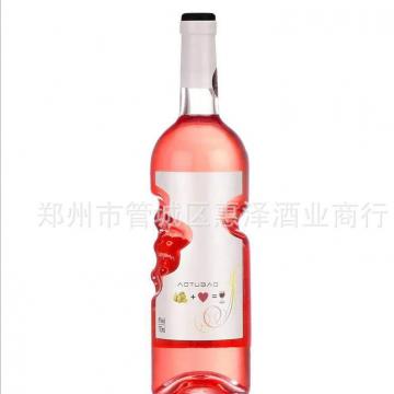 天使之手上帝之手女士甜型桃红葡萄酒西班牙红酒