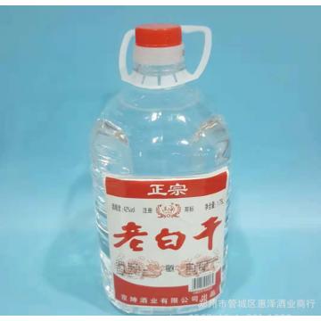 北京二锅头老白干4L低价10斤低价桶装浓香型纯粮白酒