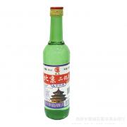 整箱批发56度京见牌北京二锅头绿瓶白酒浓香型光瓶
