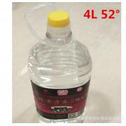批发白酒52°清香型北京方庄二锅头隆兴号4L散装大桶白酒