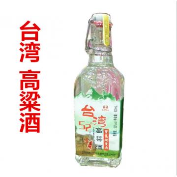 郑州整箱批发白酒52°台湾高粱酒阿里山浓香型小酒