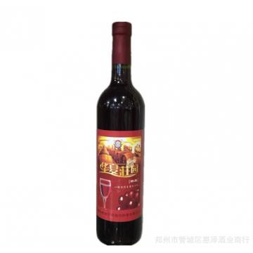 批发低价欧亚庄园精品华夏庄园露酒甜红葡萄酒
