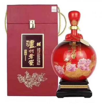 2.5升泸州特曲藏品52度浓香型白酒一件一坛