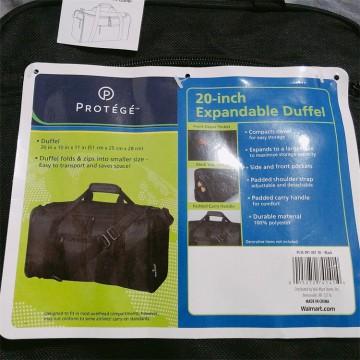 热销+沃尔玛20寸折叠式旅行包