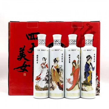 贵州台郎四大美女53度酱香型500ml 一件四瓶