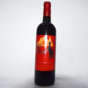 黄金雨银袋鼠葡萄酒澳大利亚原酒进口2011