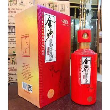 金沙酱香型白酒酒精度53%净含量500ml
