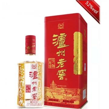 泸州老窖头曲六年窖浓香型酒精度52%净含量450ml