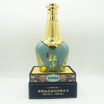 杜康清韵典雅版浓香型白酒52度500ml