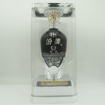 汾酒汾牌白金20清香型白酒53度475ml