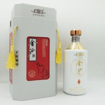 金沙五星陈酱酱香型白酒53度500ml