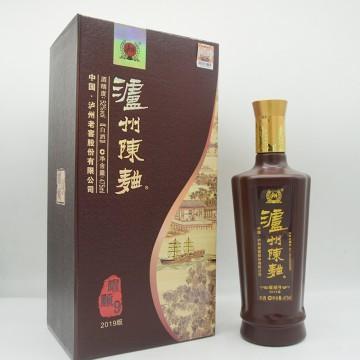 泸州老窖泸州陈曲耀顺9白酒2019版52度475ml
