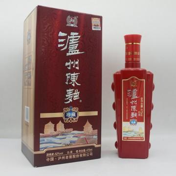 泸州老窖泸州陈曲珍藏白酒52度475ml