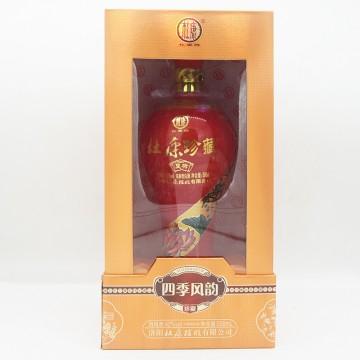 杜康珍藏四季风韵夏荷浓香型白酒42度500ml