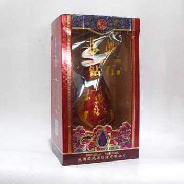 西凤钻石银钻白酒50度500ml红瓶