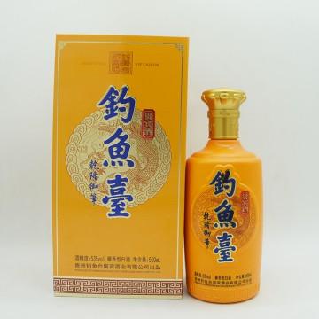 钓鱼台贵宾酒酱香型白酒53度500ml