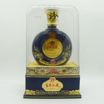 汾酒百年汾藏VIP18清香型白酒53度475ml