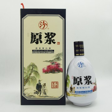 汾酒原浆百年清香清香型白酒53度475ml