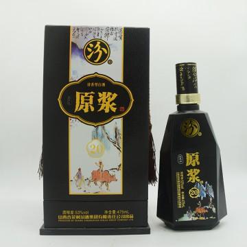 汾酒原浆宝泉涌20清香型白酒53度475ml