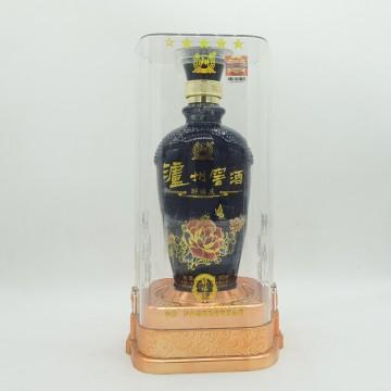 泸州老窖泸州窖酒醉禧庆白酒黑瓶52度500ml