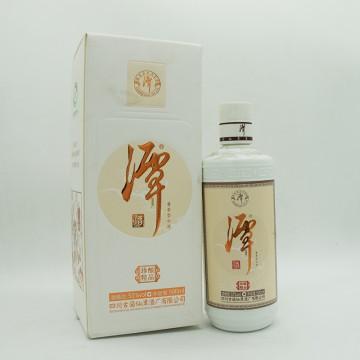 谭酒珍酿精品酱香型白酒53度500ml