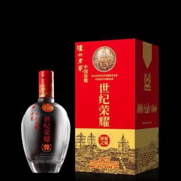 泸州老窖世纪荣耀顺之荣耀酒精度38%净含量500ml