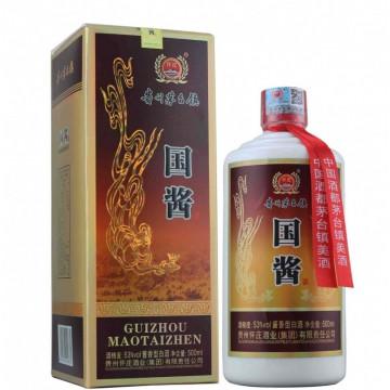 茅台镇怀庄国酱酒酱香型白酒53度500ml