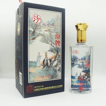 汾酒汾牌珍品18清香型白酒53度475ml