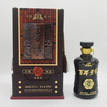 国藏窖酒百年老窖天赋神品30浓香型白酒52度500ml