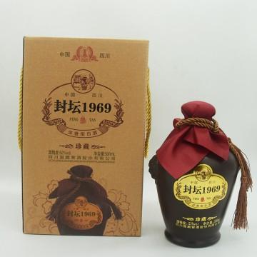 国藏窖酒封坛1969珍藏浓香型白酒521度500ML