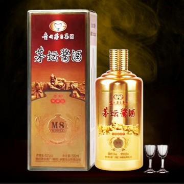 贵州茅台集团茅坛酱酒M8柔和酱香型白酒53度500ml