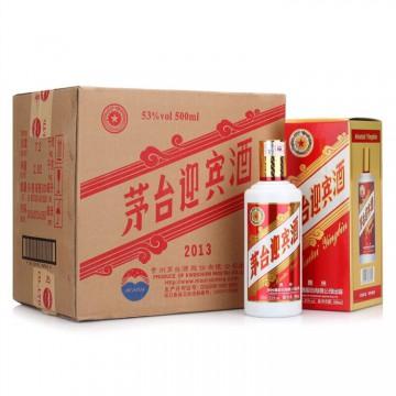 茅台迎宾酒2013版53度500ml酱香型白酒