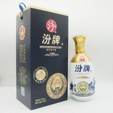 汾酒汾牌1989清香型白酒53度净含量475ml