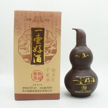 国藏窖酒一壶好酒原浆珍品浓香型白酒52度500ML