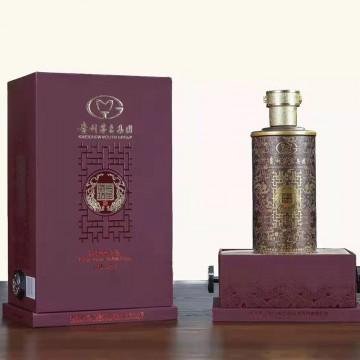 贵州茅台集团臻品白金酒坊酱香型白酒53度500Ml