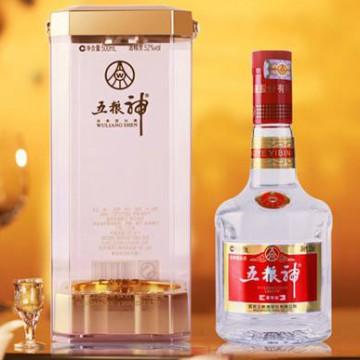 五粮神豪华版52度500ml浓香型白酒